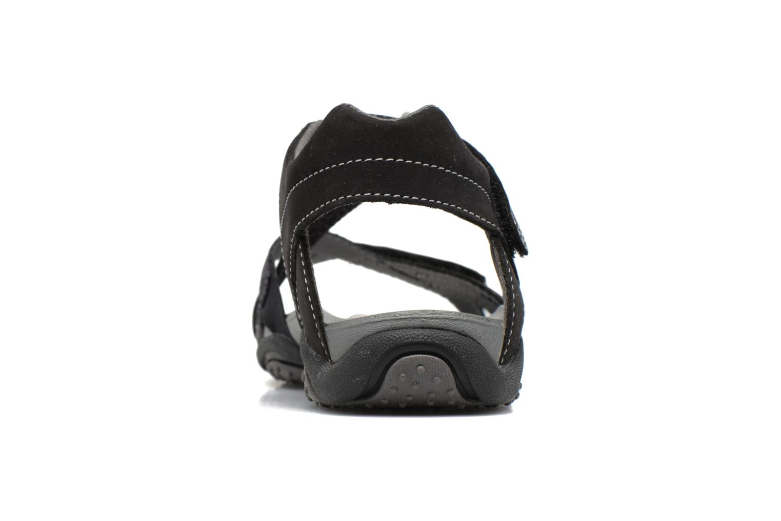 Sandals Superfit Nancy Black view from the right