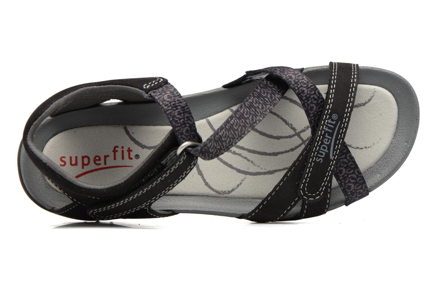 Sandals Superfit Nancy Black view from the left