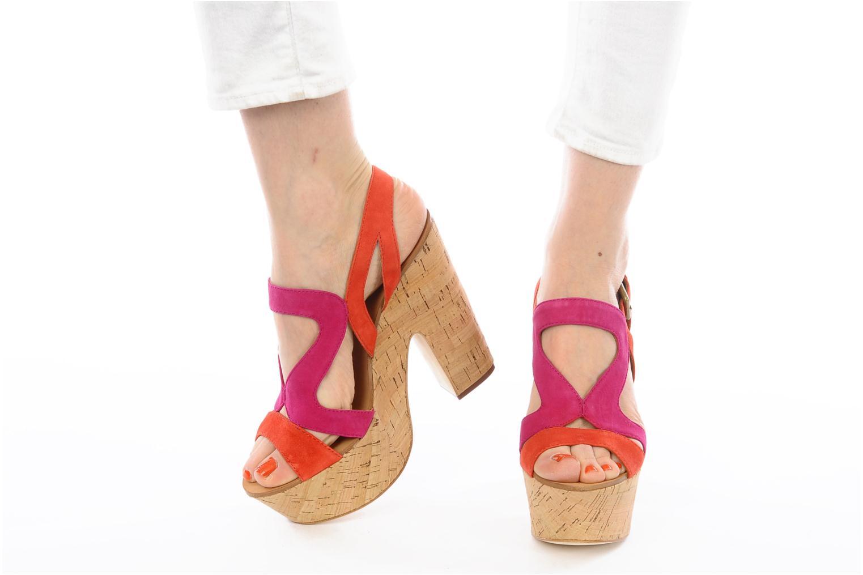 Sandales et nu-pieds Ash Hysteria Sandale Rose vue bas / vue portée sac