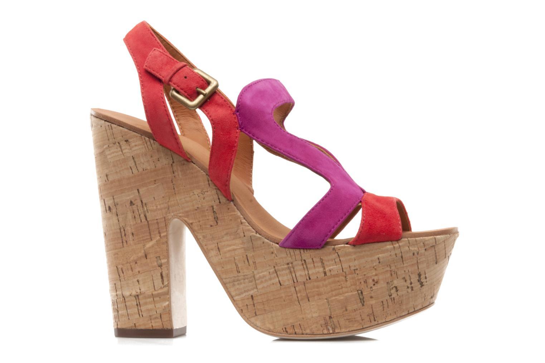 Sandales et nu-pieds Ash Hysteria Sandale Rose vue derrière