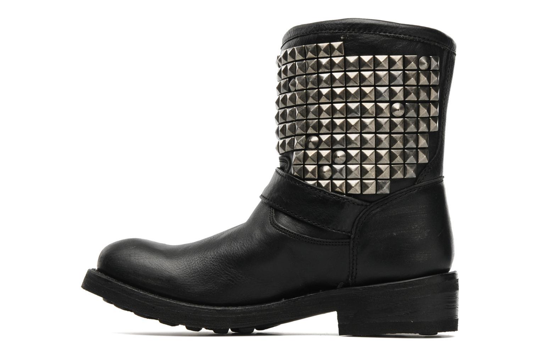 Bottines et boots Ash Titan Noir vue face