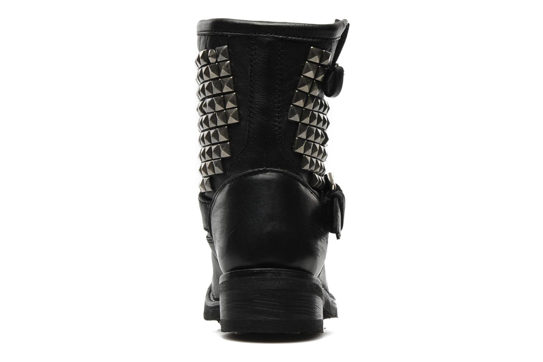Bottines et boots Ash Titan Noir vue droite