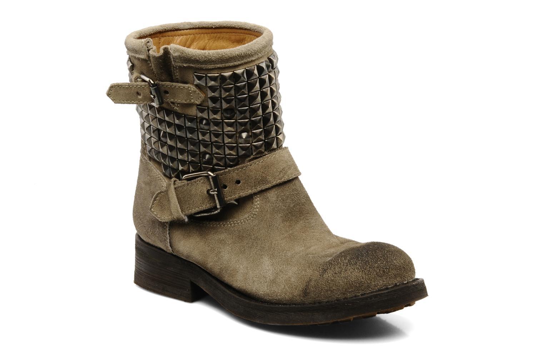 Ash CALFSUEDE Gris - Livraison Gratuite avec  - Chaussures Bottine Femme