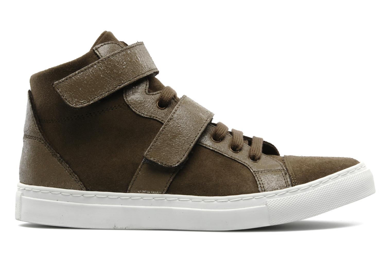 Sneakers Bensimon Sneakys Suède Grigio immagine posteriore