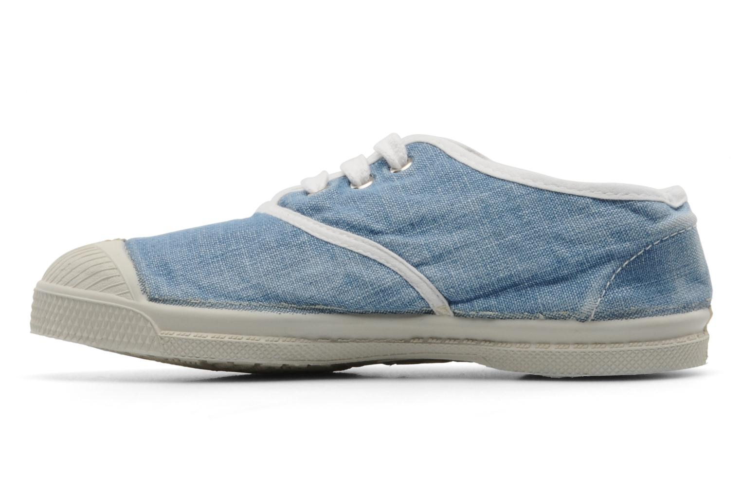 Sneakers Bensimon Tennis Washed E Blauw voorkant