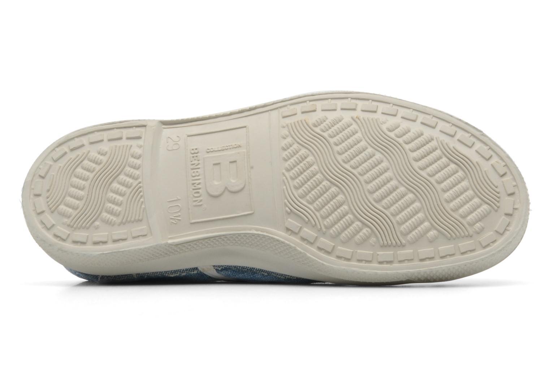 Sneakers Bensimon Tennis Washed E Blauw boven