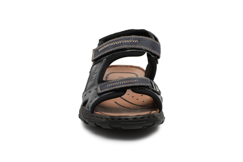 Sandaler Rieker Christian 26061 Blå se skoene på
