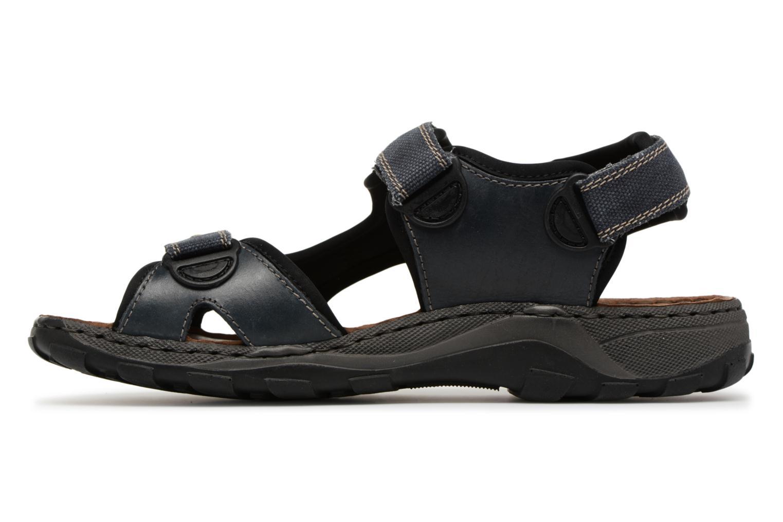 Sandales et nu-pieds Rieker Christian 26061 Bleu vue face
