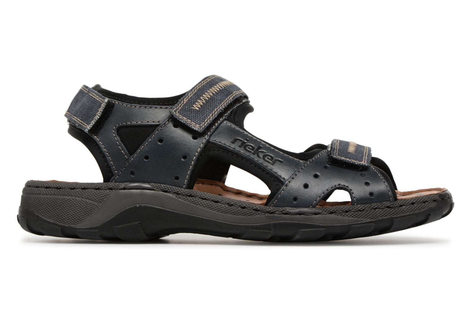 Sandals Rieker Christian 26061 Blue back view