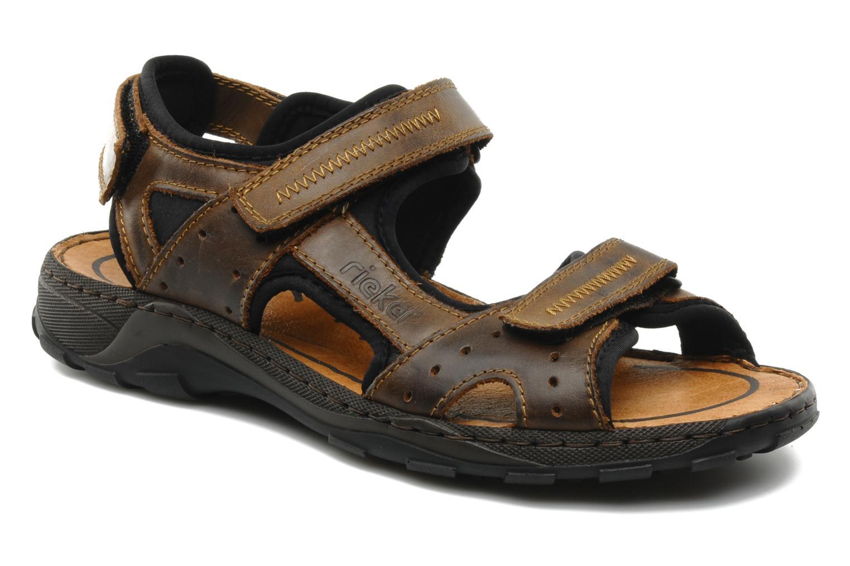 Rieker Christian 26061 (Marron) - Sandales et nu-pieds chez Sarenza (87504)