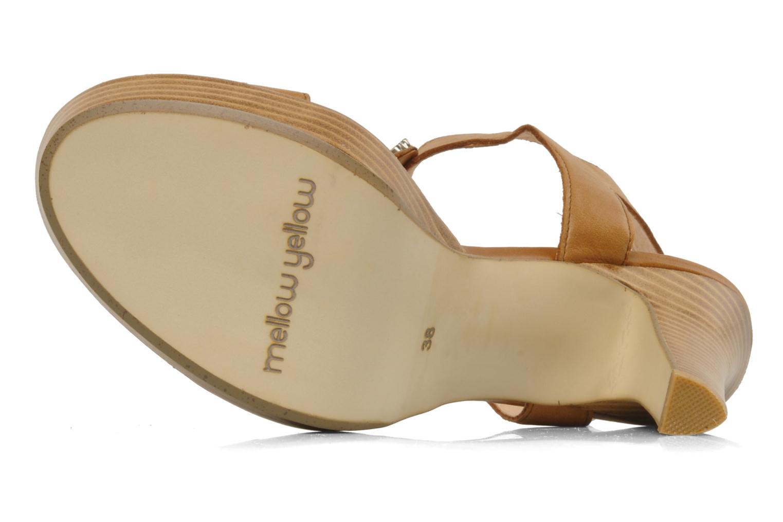 Sandales et nu-pieds Mellow Yellow Labeille Marron vue haut