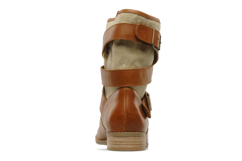 Bottines et boots Mellow Yellow Badilla Marron vue droite