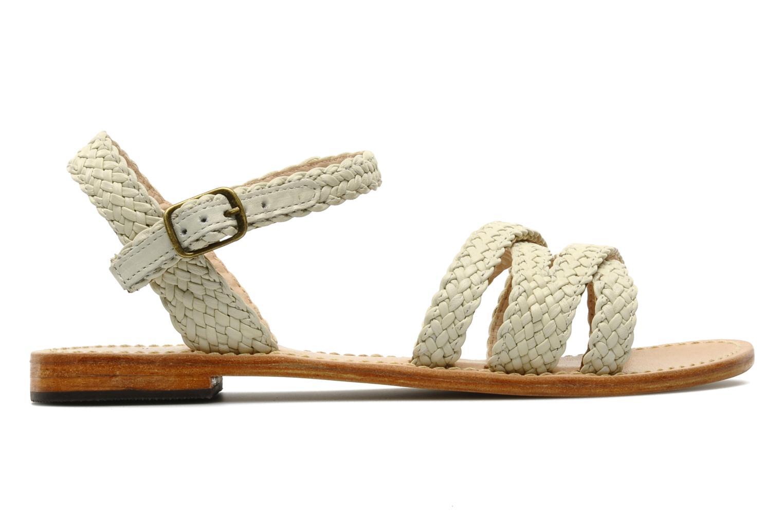 Sandales et nu-pieds Mellow Yellow Langlette Beige vue derrière