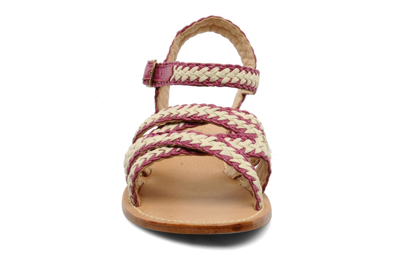 Sandales et nu-pieds Mellow Yellow Langlette Violet vue portées chaussures