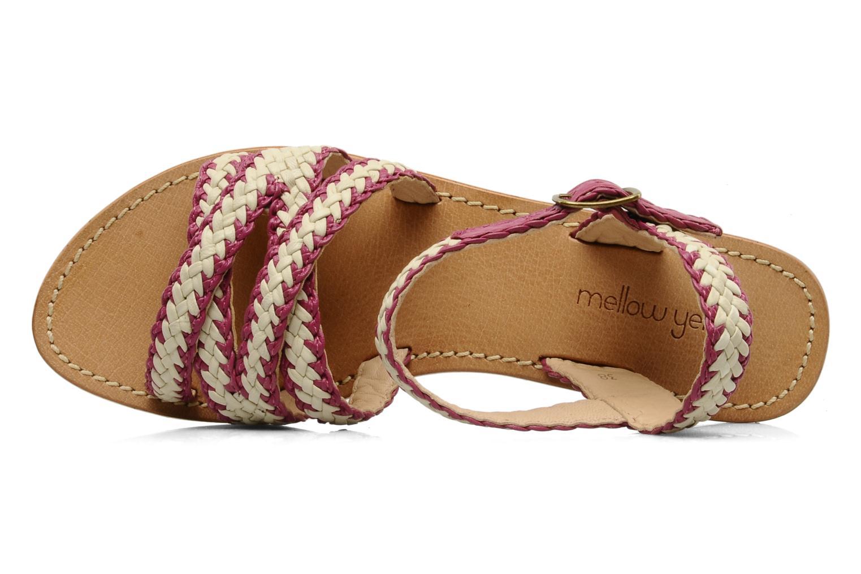 Sandales et nu-pieds Mellow Yellow Langlette Violet vue gauche
