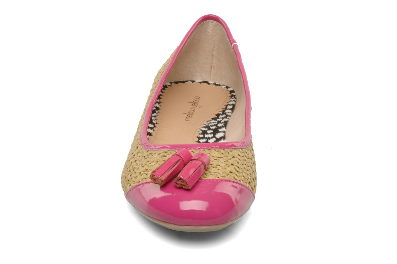 Ballerines Mellow Yellow Lapoin Violet vue portées chaussures