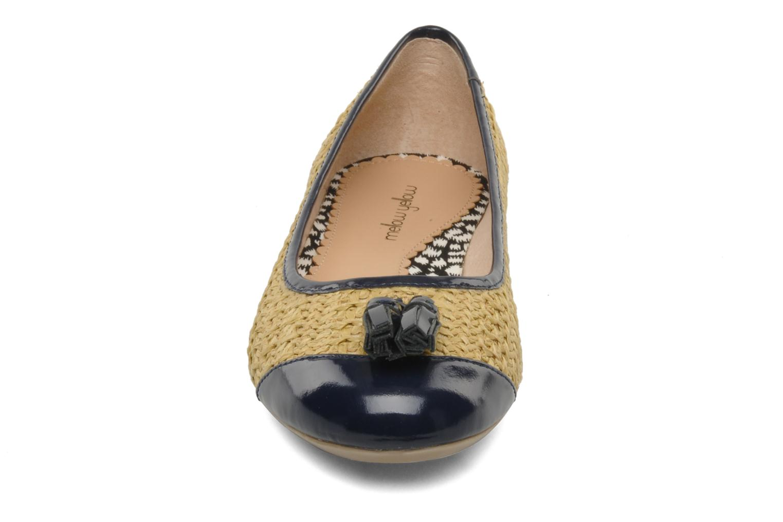 Ballerines Mellow Yellow Lapoin Beige vue portées chaussures