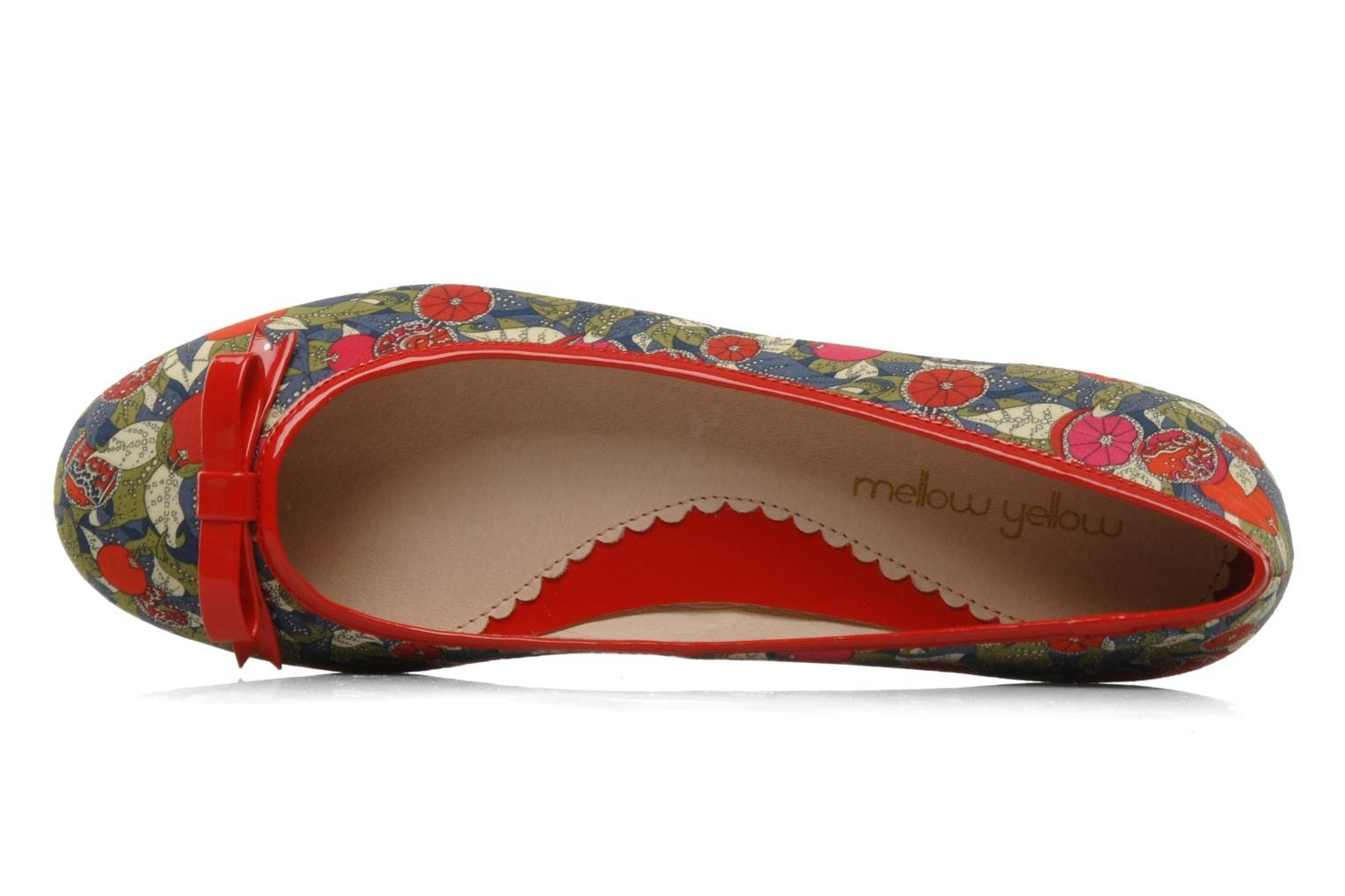 Ballet pumps Mellow Yellow Lardenia Red view from the left