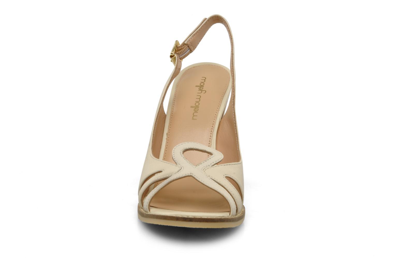 Sandals Mellow Yellow Lastou Beige model view
