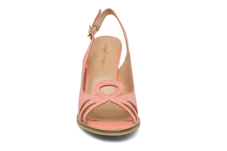 Sandals Mellow Yellow Lastou Pink model view