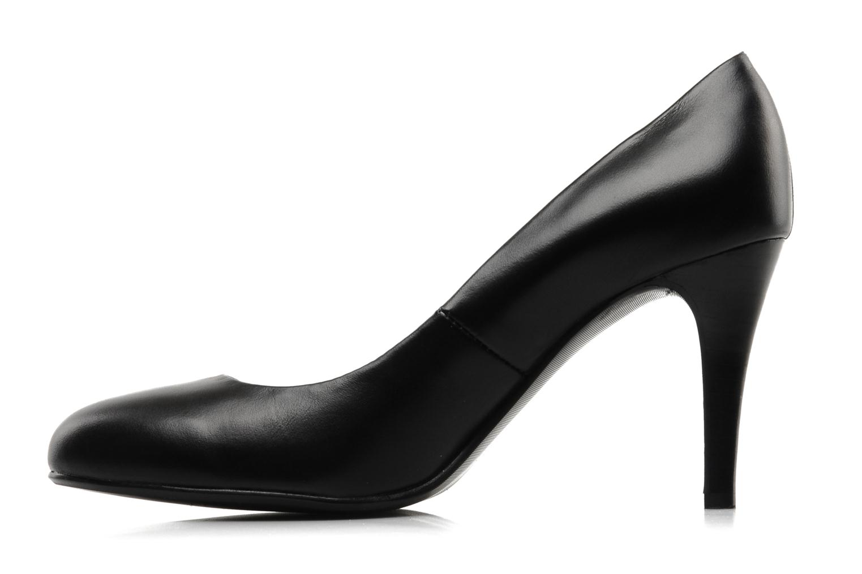 High heels Mellow Yellow Lescarpin Black front view