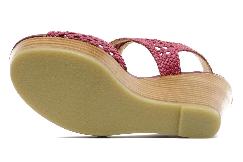 Sandales et nu-pieds Mellow Yellow Lexic Rose vue haut
