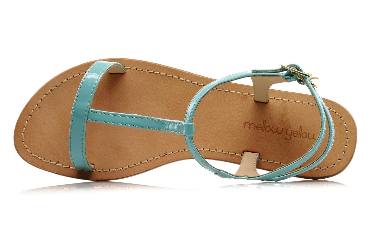 Sandals Mellow Yellow Link Blue view from the left