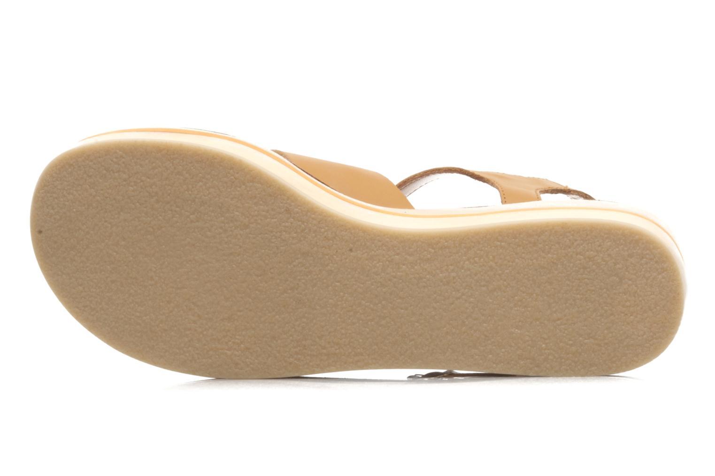 Sandales et nu-pieds Mellow Yellow Liraxan Marron vue haut