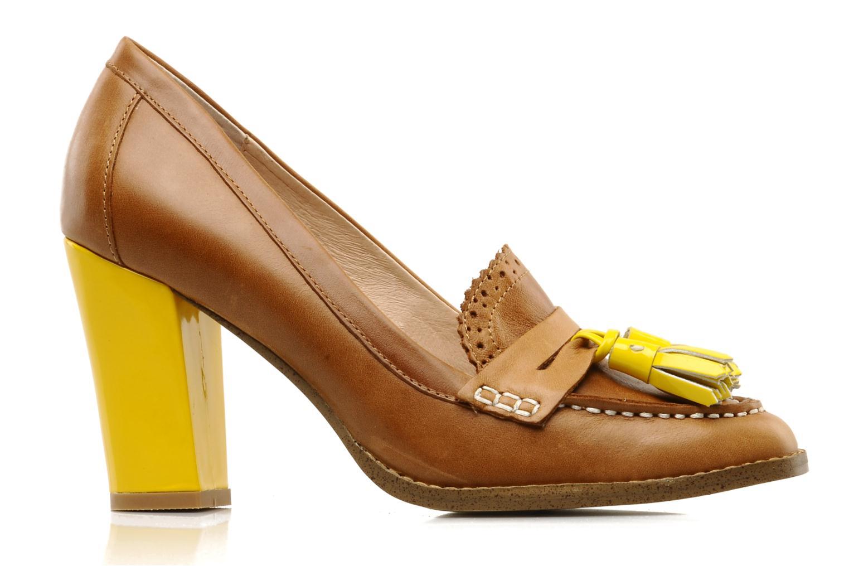Mocasines Mellow Yellow Lola Marrón vistra trasera