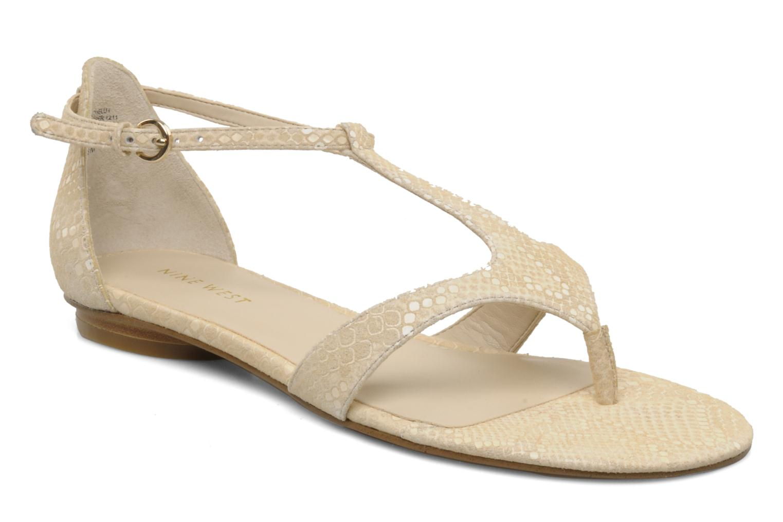 Sandales et nu-pieds Nine West Couldbeluv Beige vue détail/paire