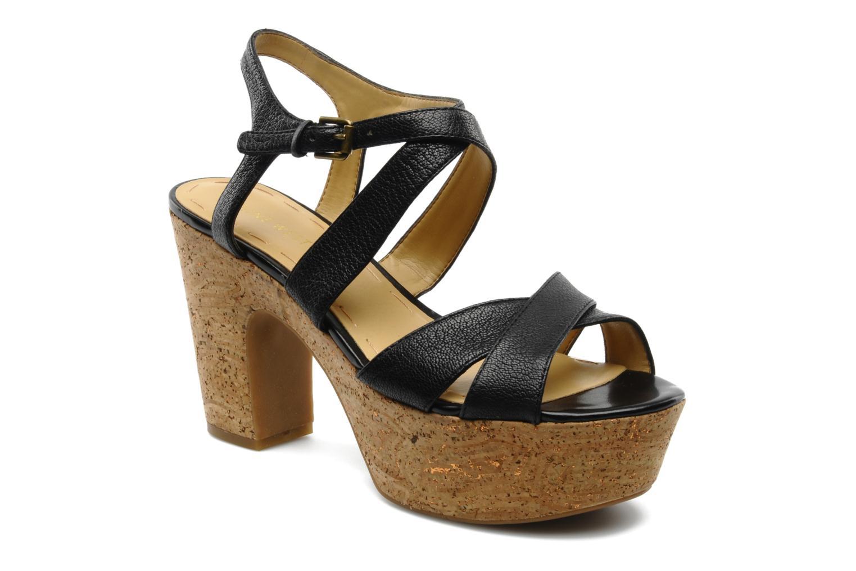 Sandales et nu-pieds Nine West Guessagain Noir vue détail/paire