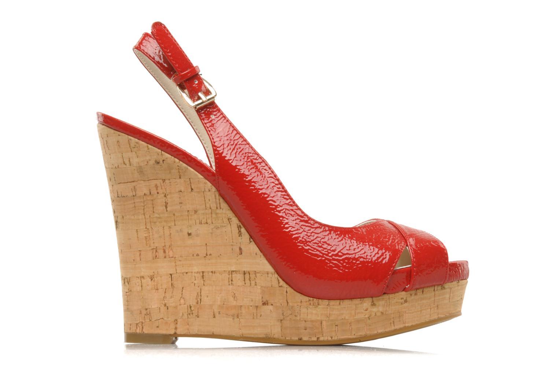 Sandales et nu-pieds Nine West Laffnplay 3 Rouge vue derrière