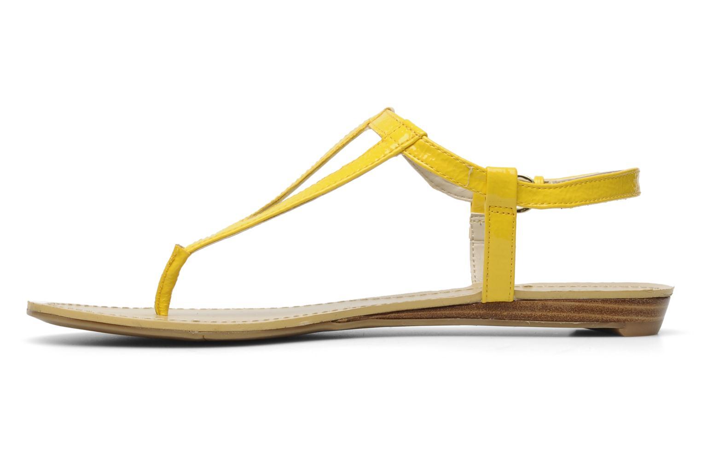 Sandalen Nine West Weightless 3 Geel voorkant