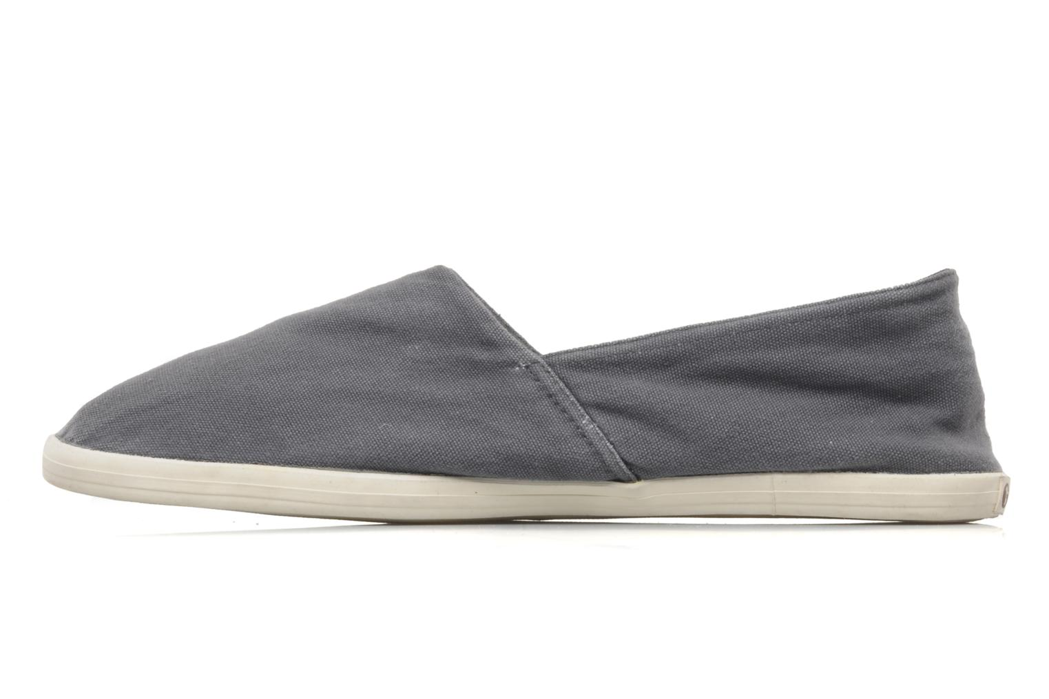 Mocasines Gola Washed Quigg M Gris vista de frente