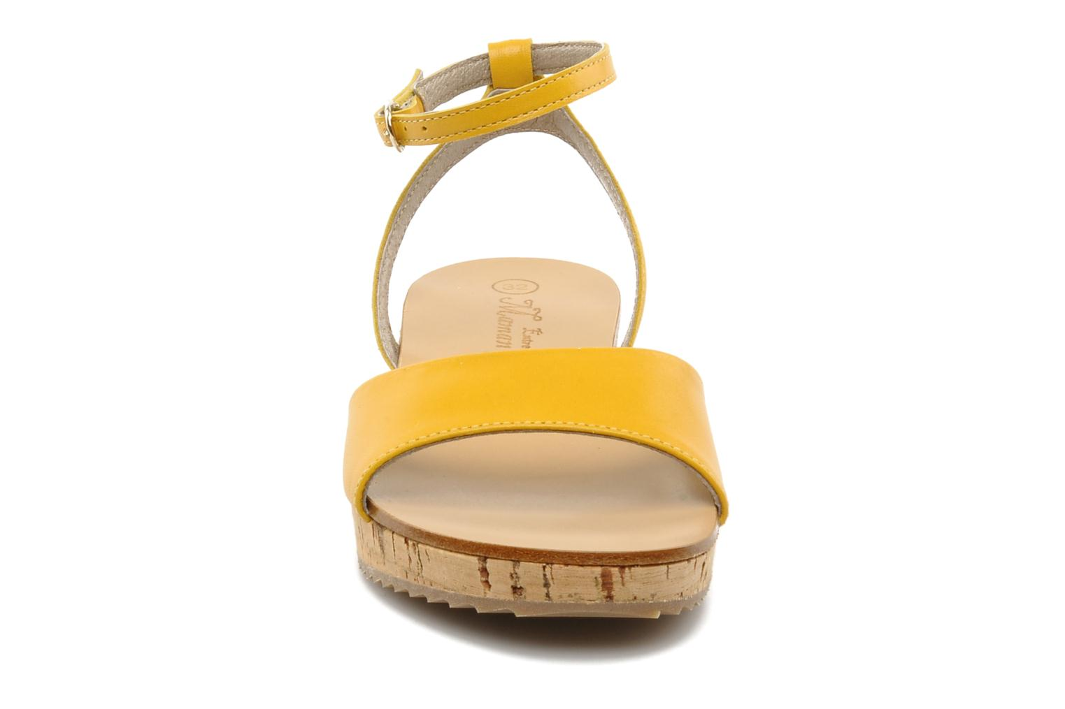 Sandals C'Entre Maman & Moi! Lucy Yellow model view