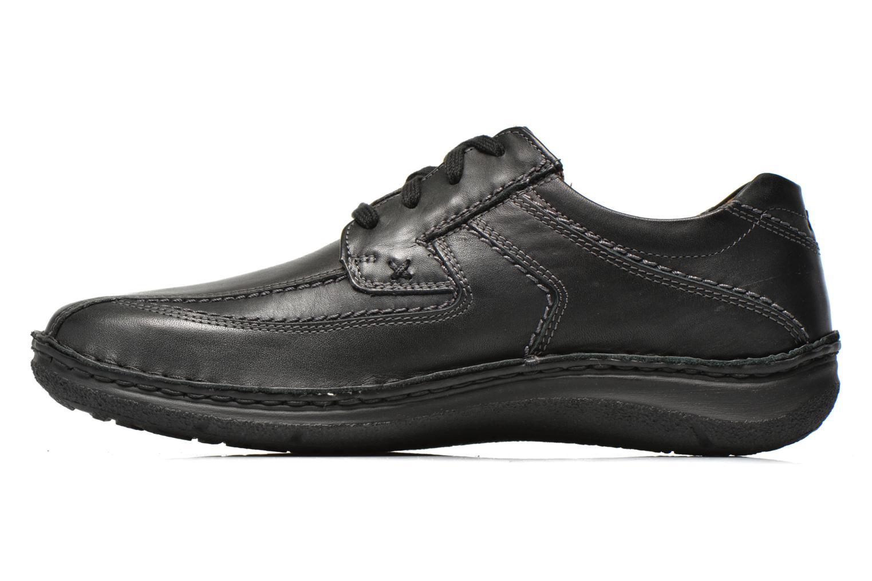 Chaussures à lacets Josef Seibel Anvers 08 Noir vue face