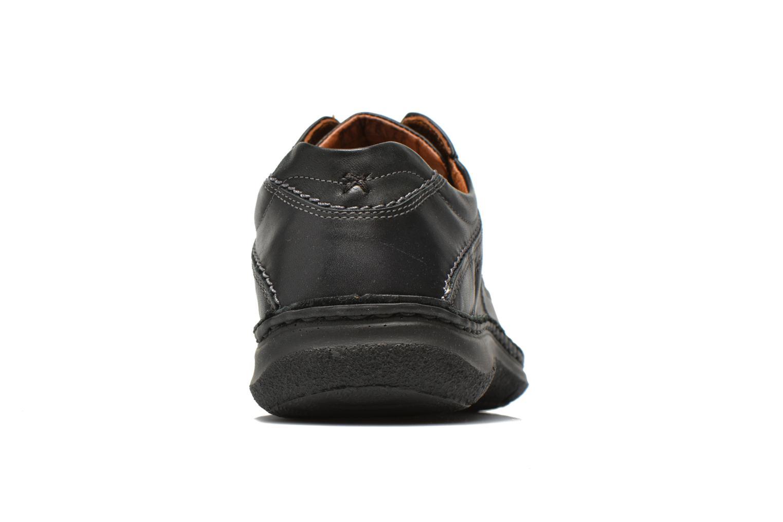 Chaussures à lacets Josef Seibel Anvers 08 Noir vue droite