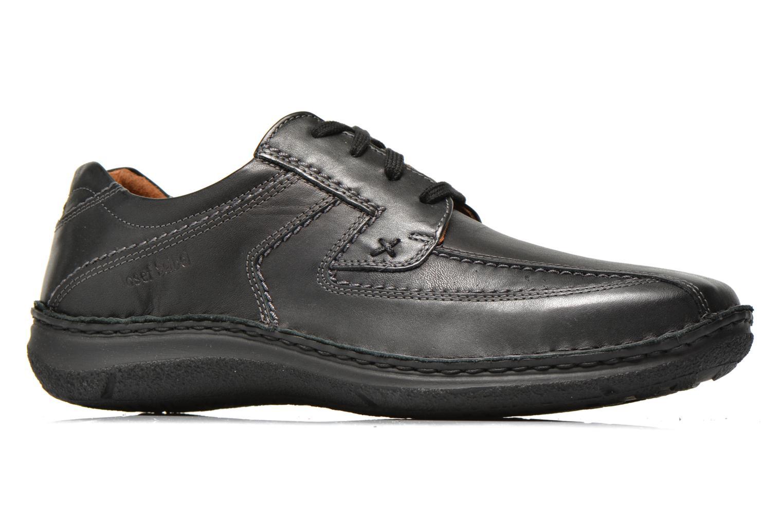 Chaussures à lacets Josef Seibel Anvers 08 Noir vue derrière