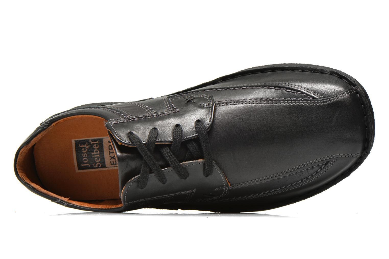 Chaussures à lacets Josef Seibel Anvers 08 Noir vue gauche