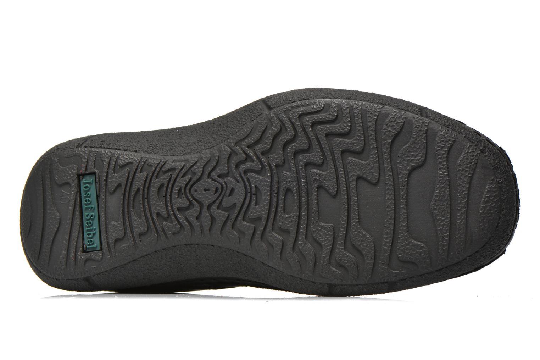 Chaussures à lacets Josef Seibel Anvers 08 Noir vue haut