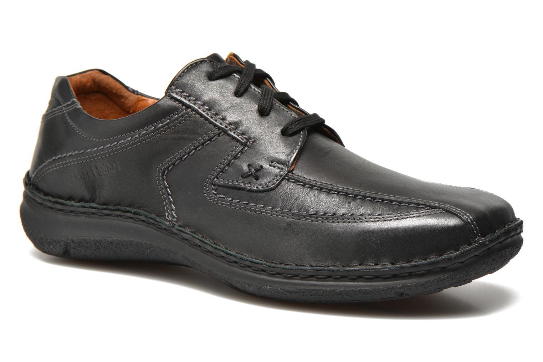 Chaussures à lacets Josef Seibel Anvers 08 Noir vue détail/paire