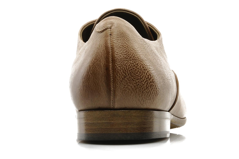 Chaussures à lacets Sartore Saber Marron vue droite