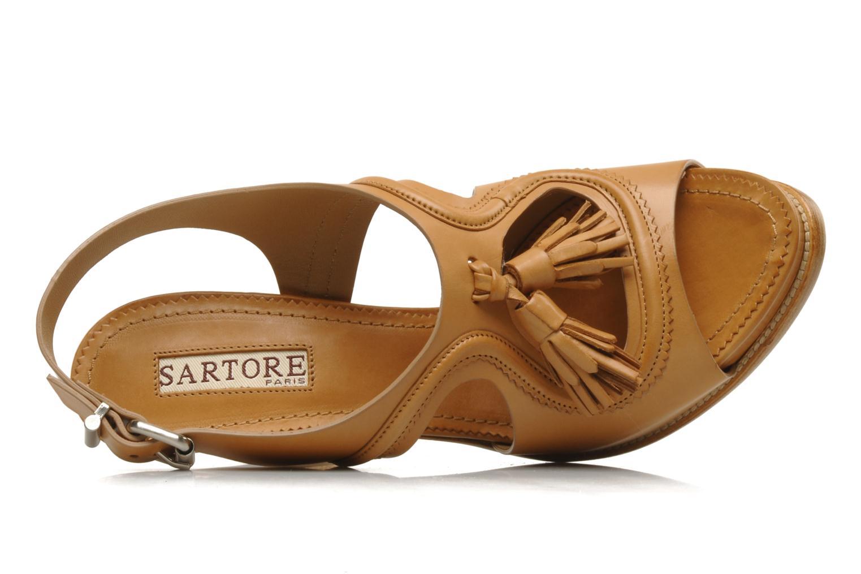 Sandales et nu-pieds Sartore Sariel Beige vue gauche