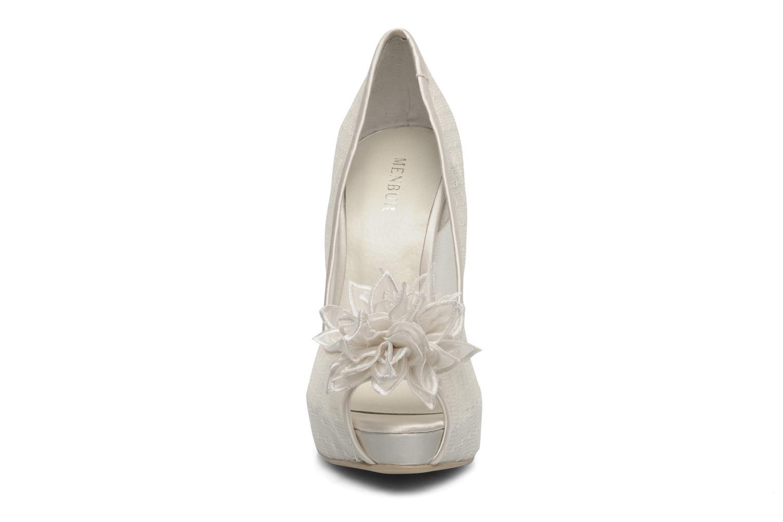 Escarpins Menbur Adelia N Blanc vue portées chaussures