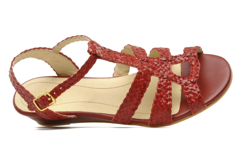 Sandali e scarpe aperte Arima pour Elle Judy Rosso immagine sinistra