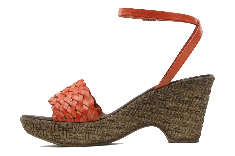 Sandali e scarpe aperte Arima pour Elle Panache Arancione immagine frontale