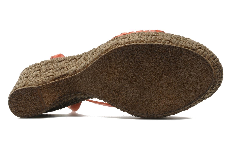 Sandali e scarpe aperte Arima pour Elle Panache Arancione immagine dall'alto