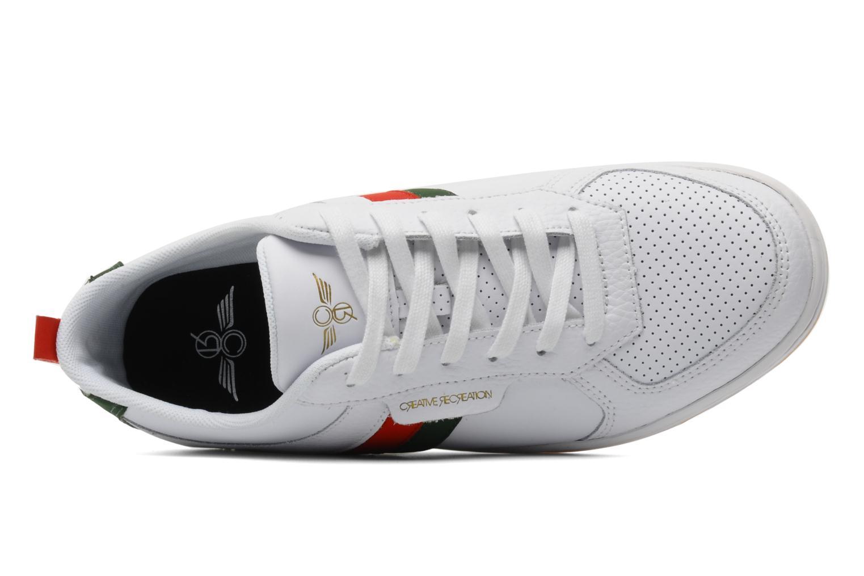 Sneakers Creative Recreation Dicoco Lo Bianco immagine sinistra