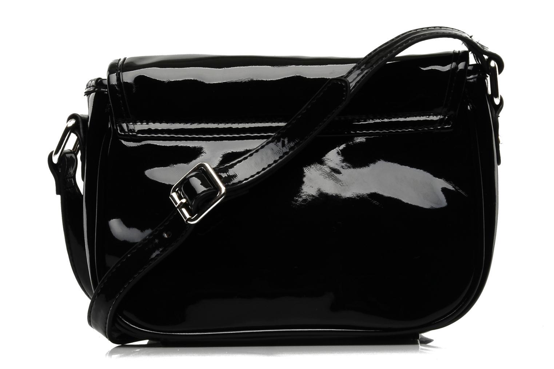 Handtaschen Buffalo Pipa schwarz ansicht von vorne