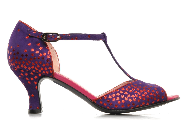 Sandales et nu-pieds Annabel Winship Hambug Violet vue derrière